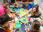 Psychology students help children with developmental challenges get ready for preschool