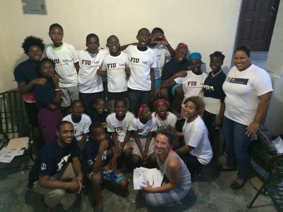FIU Law students visit Haiti
