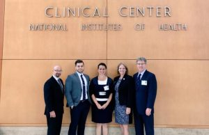 Henry Artigues, Ethan Starkey, Larissa Ramos, Helen Cornely, Mark Macgowan from FIU at the NIH headquarters