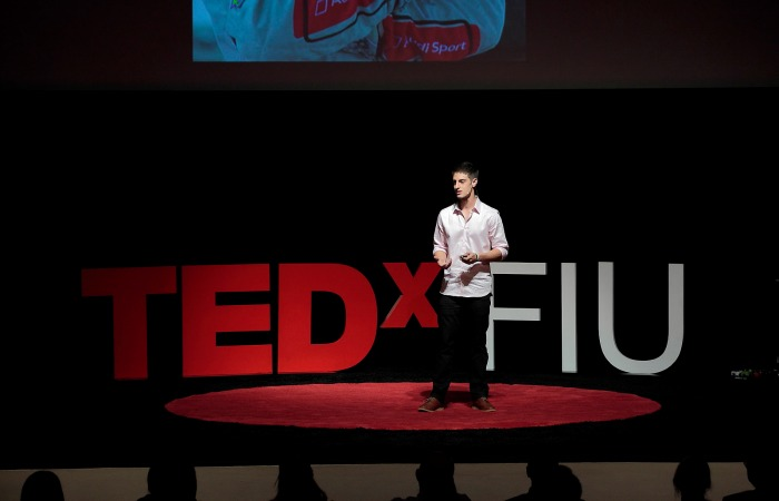 TEDxFIU: What does it take to be a race car driver?