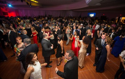 Guests dance after dinner at the 14th Annual Torch Awards Gala