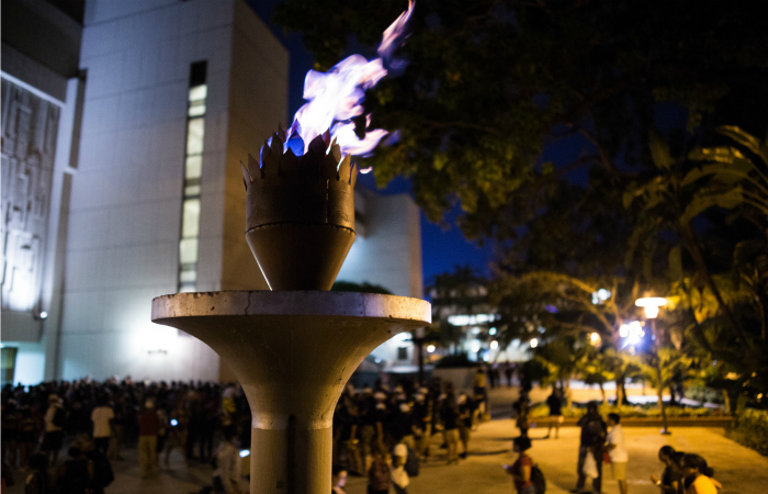 Get a glimpse of FIU's largest tradition – Trail of the Torch