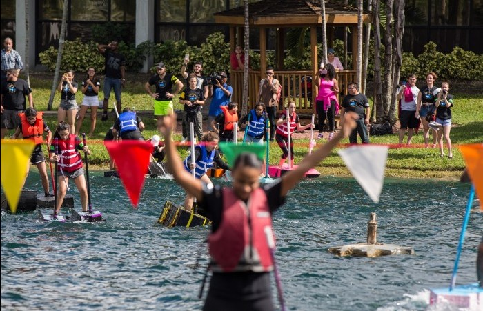 Daniel Tabet takes first place at 2015 Walk on Water