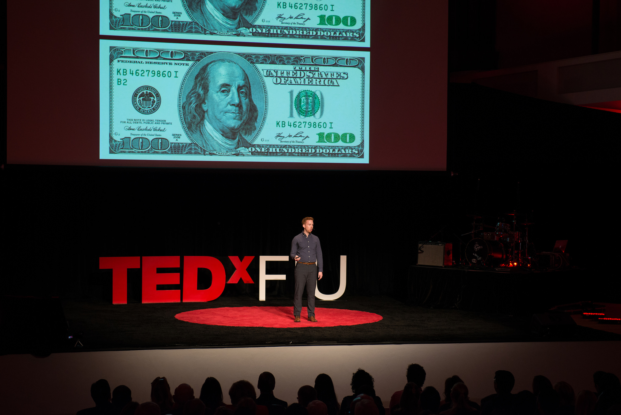 TEDxFIU: Fighting counterfeiters with data