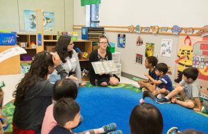FIU students help children develop an early love for reading