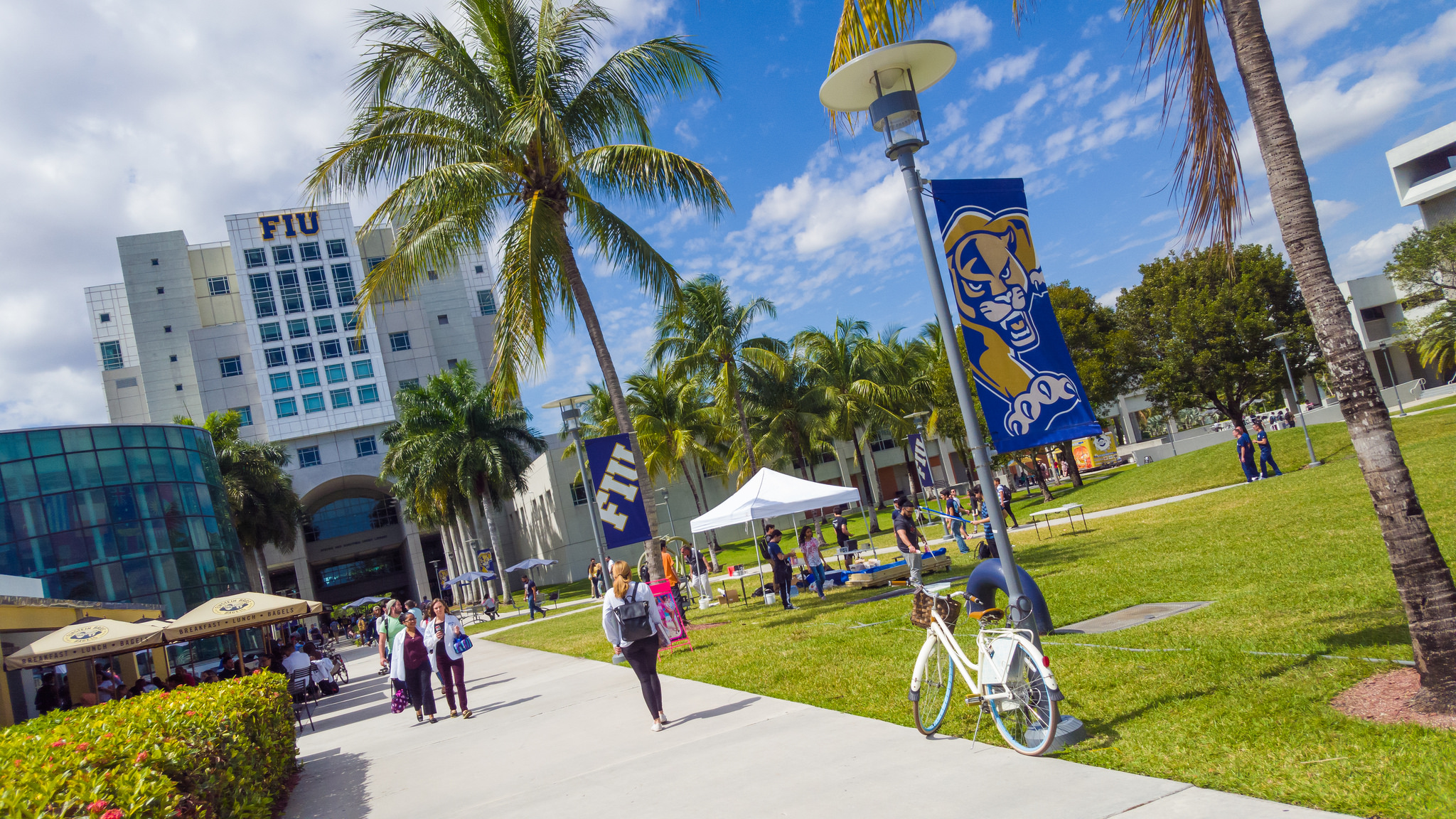 President Rosenberg delivers message on Greek life at FIU