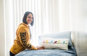 Visiting student from Puerto Rico adjusts to life at FIU