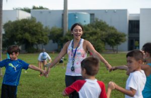 Summer Treatment Program counselors help carry out the day-to-day activities.