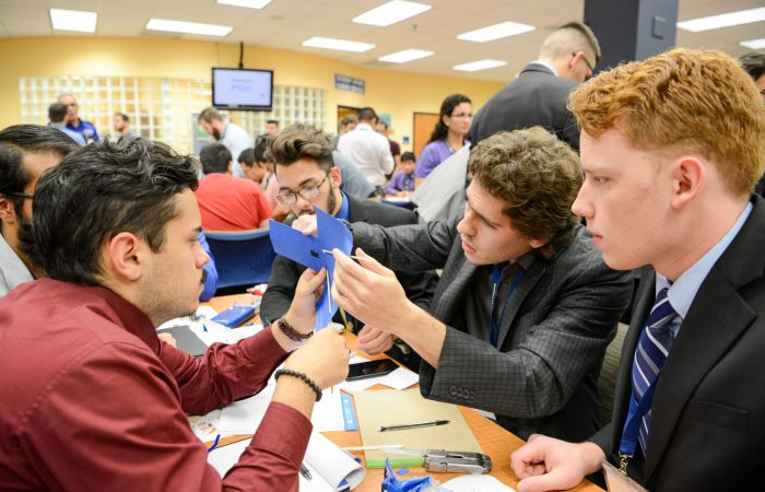 Engineering students compete in FCA US Design Challenge.