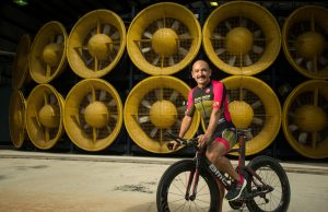 Wall of Wind researcher competes in largest ironman triathlon