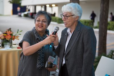 Ranu Jung (left) and Lesley Northup (right)