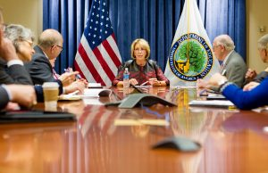 Secretary DeVos meets with FIU President Rosenberg, other public university leaders