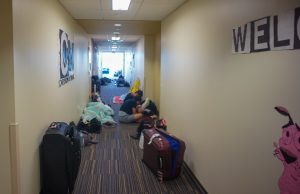Students living on campus take shelter at FIU, make most of Hurricane Irma