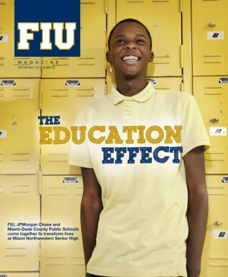 FIU magazine winter 2011-12 education effect cover