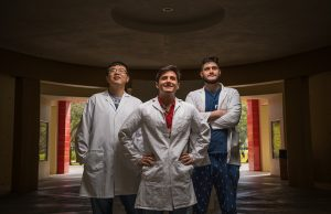 FIU biochemistry Ph.D. student Haixiang Yu, chemistry Ph.D. student Juan Canoura, and recent graduate Obtin Alkhamis published a study on FIU's patented cocaine detection technologies.