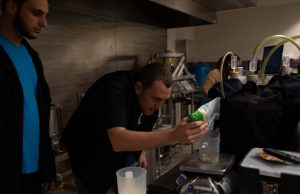 Students pour their own brew at Nov. 10 beer festival