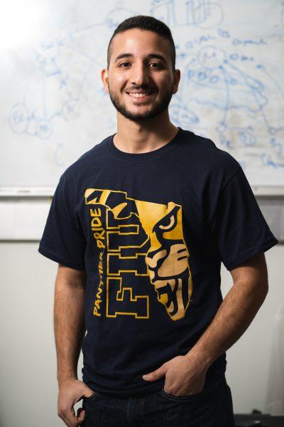 David Gabay, computer engineering graduate student.