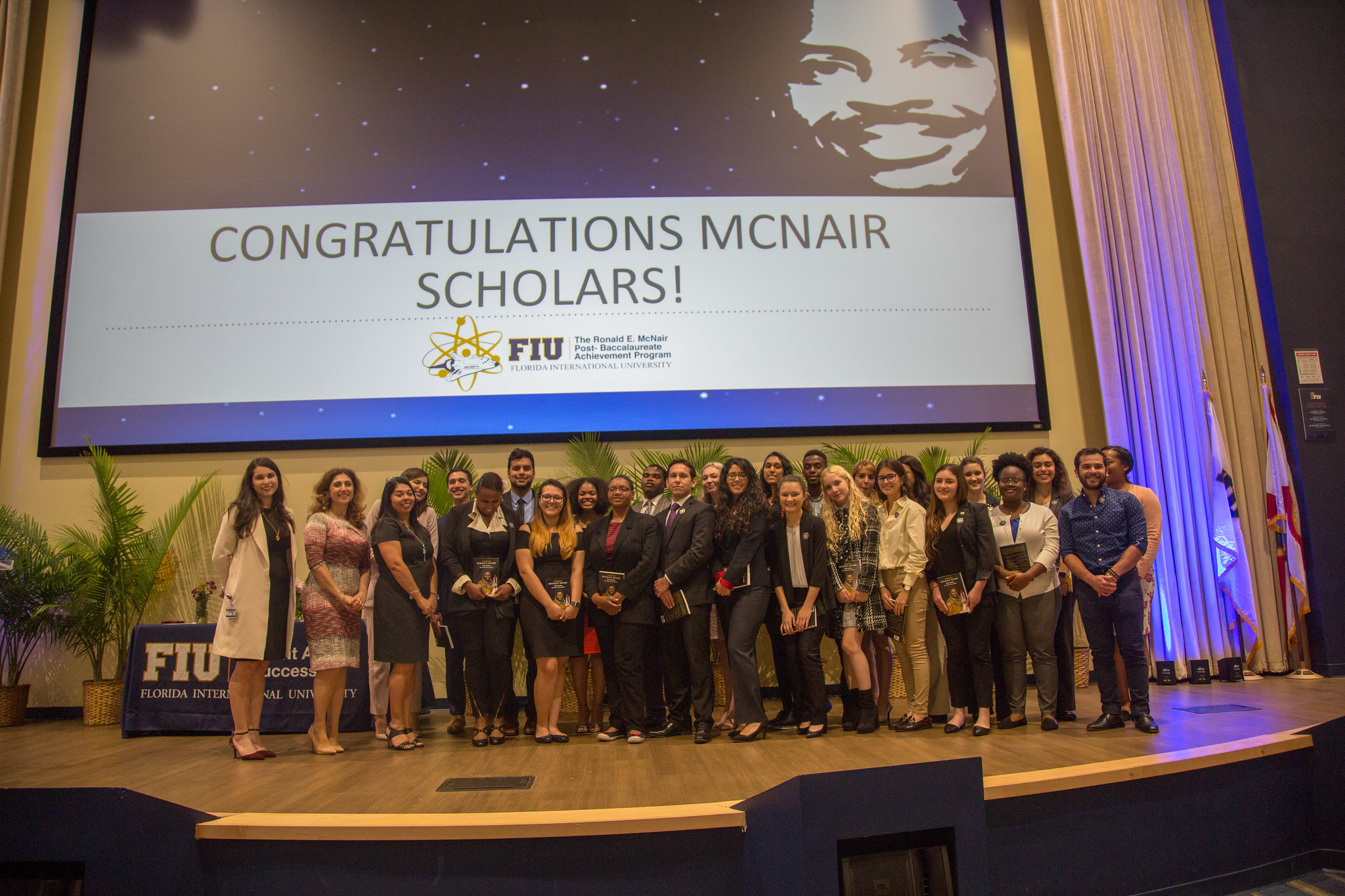 FIU celebrates 16 years of McNair Scholars, welcomes new inductees