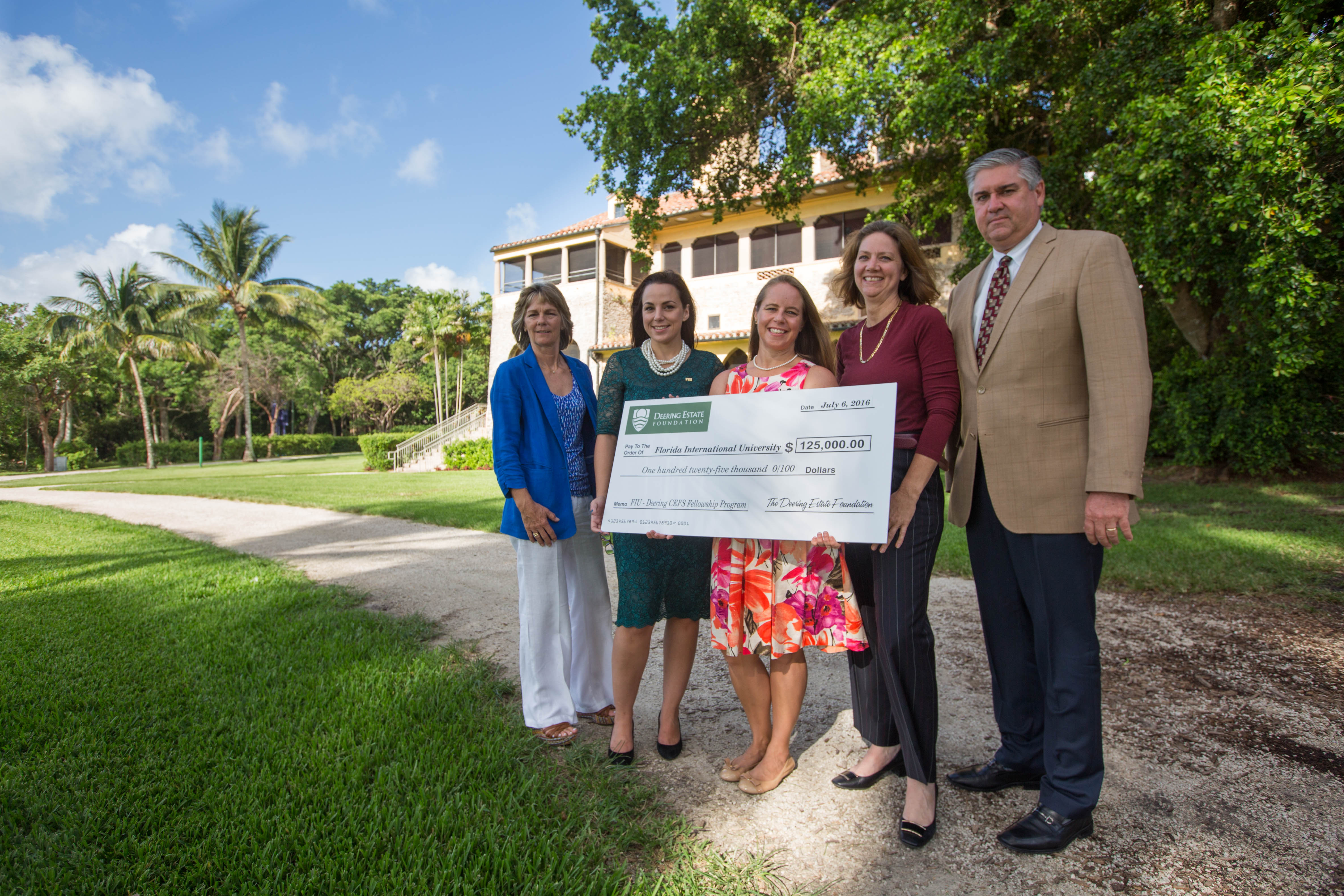 FIU and Deering Estate have launched the FIU-Deering Cultural Ecological Field Station Fellowship Program to fund Ph.D. students whose research will benefit conservation management efforts at the estate and in the region.