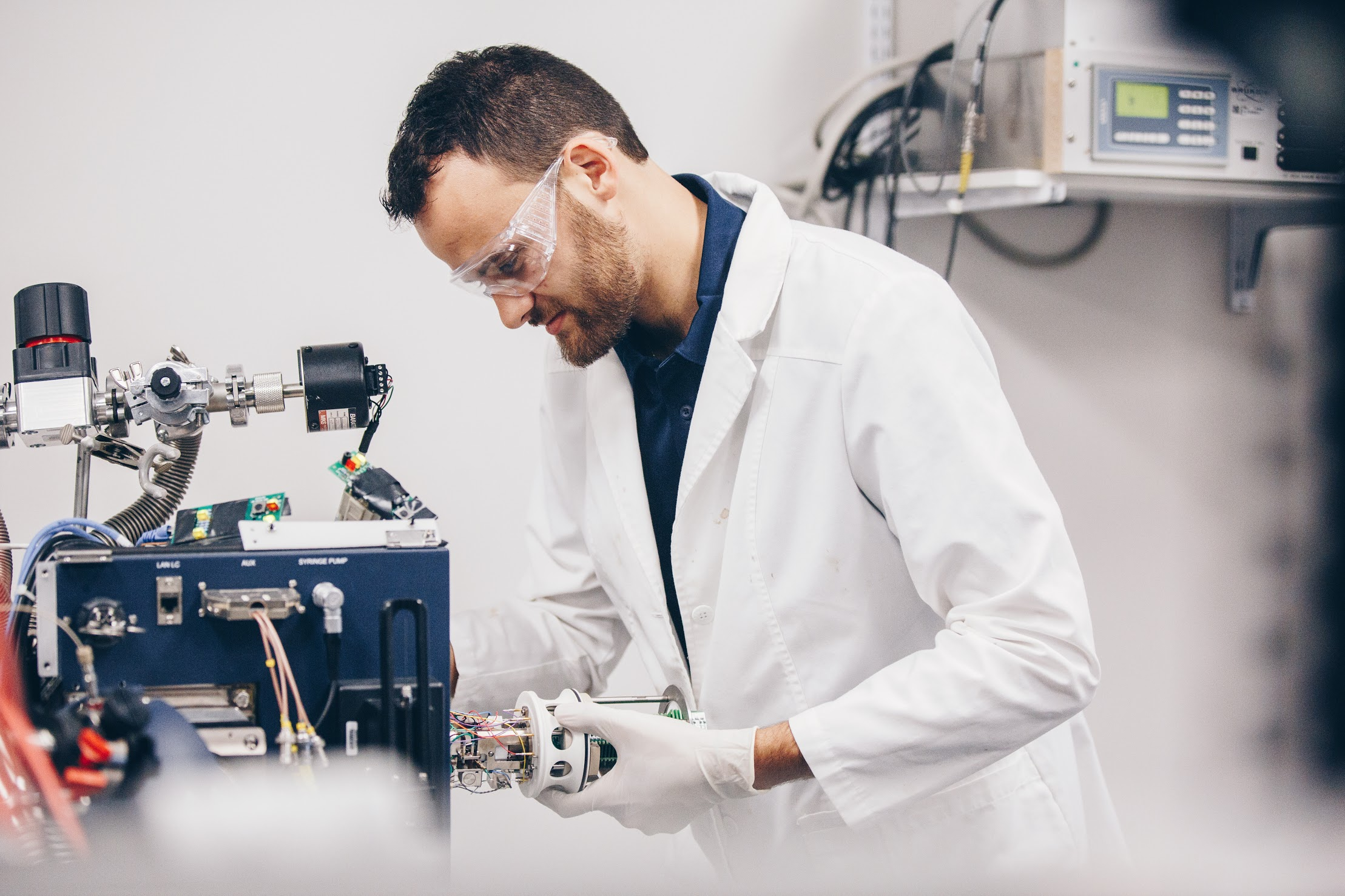 Paolo Benigni is part of the research team at FIU's Center for Aquatic Chemistry and Environment that has developed a new tool to assess oil spill damage.