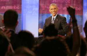 President Obama addresses FIU community during nationally televised town hall on immigration
