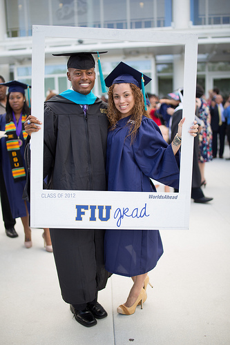 florida international university 2012 spring commencement graduates photo frame