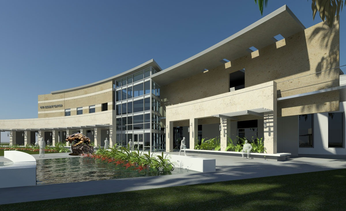fiu alumni center rendering
