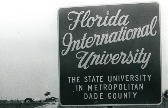 Welcome to FIU, 1970
