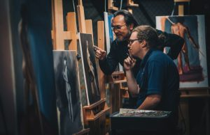 Academy of Portrait and Figurative Art celebrates new studio, student success