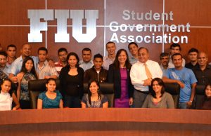 Honduran students visit FIU for week of agroscience