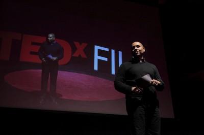 TEDxFIU Emcee Alberto Padron