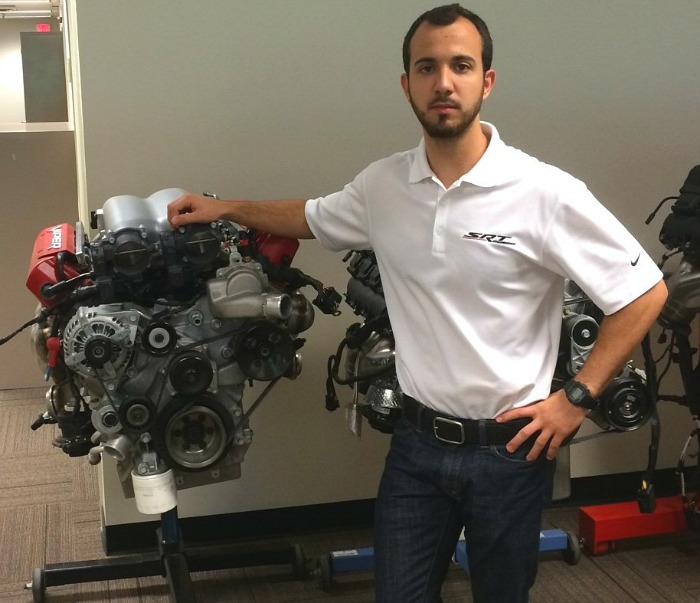 College of Engineering & Computing student Alejandro Diaz is one of 12 finalists from around the world to compete in the Infiniti Performance Engineering Academy.