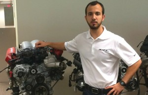 Student a finalist to become Formula One engineering star