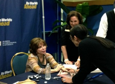 Isabel Allende charms FIU crowd with honesty, humor, wit