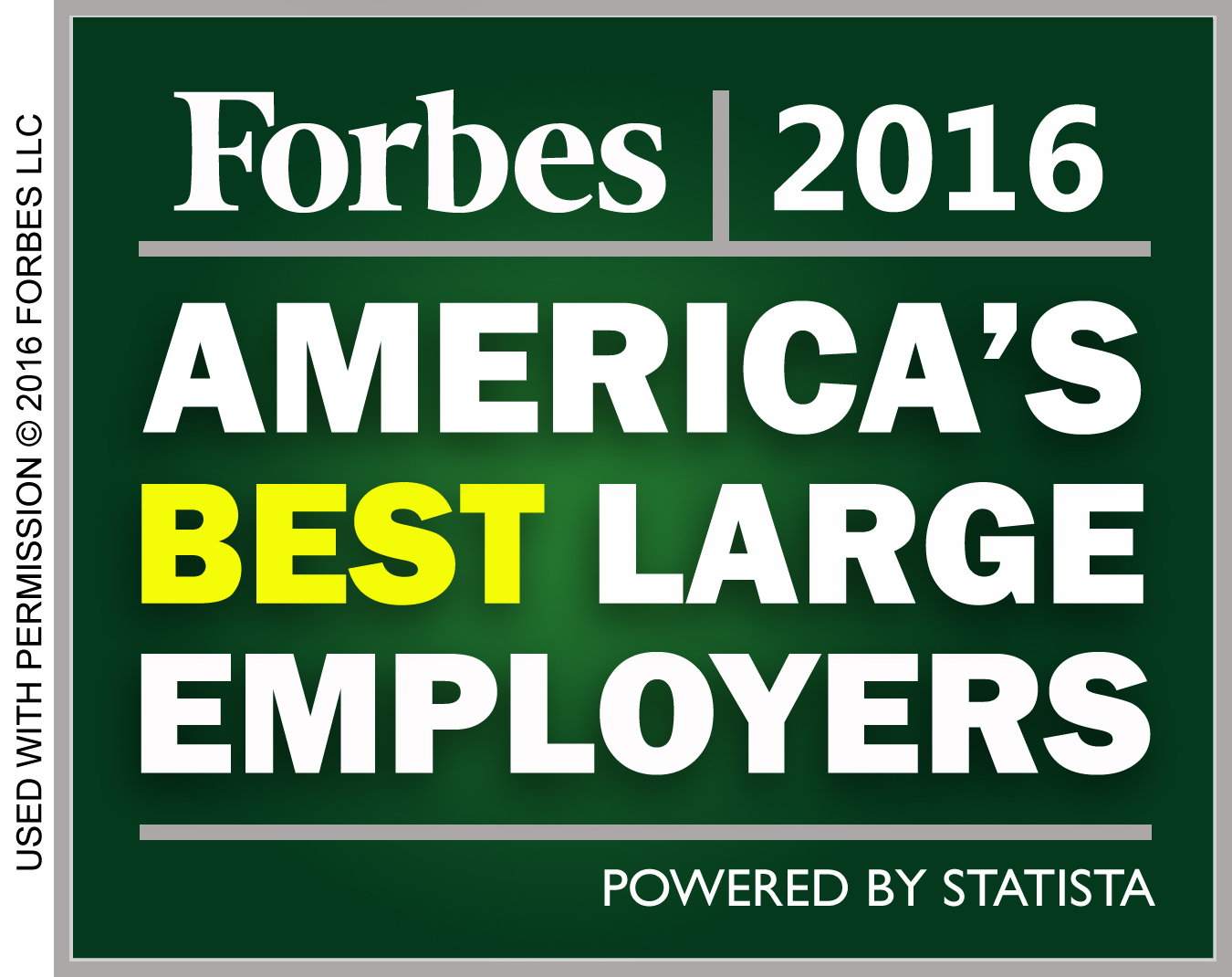 America's Best Large Employers 2016 w C