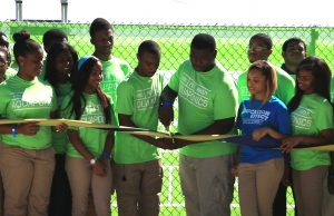 Students celebrate launch of aquaponics lab at Miami Northwestern Senior High School
