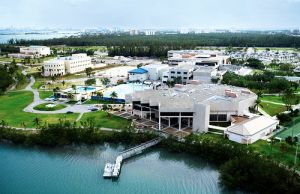 A view of North Miami's Biscayne Bay Campus.