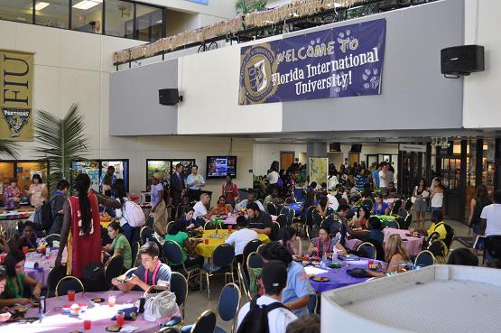 Luau Polynesian Catering Service Miami Fort Lauderdale: BBC Goes Polynesian For Freshman Luau