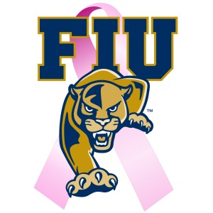 Join the Panthers and use the hashtag #PinkPanthers on social media to help promote breast cancer awareness during the Play Pink initiative.
