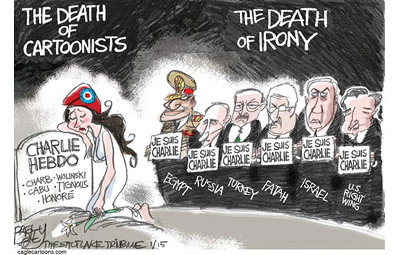 Pat Bagley - The Death of Cartoonists