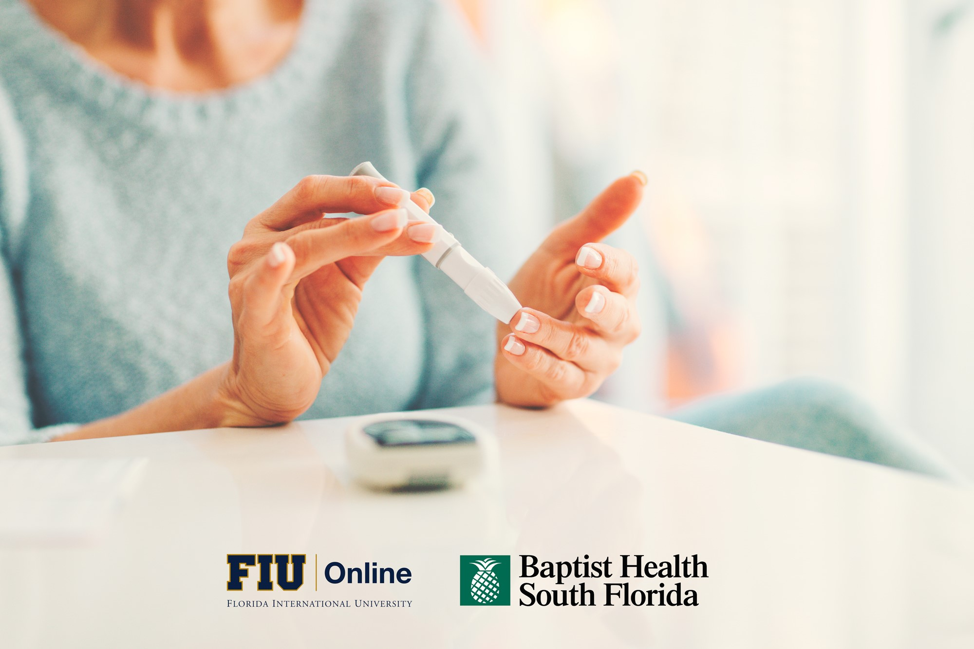 FIU Online and Baptist Health South Florida launch online course series
