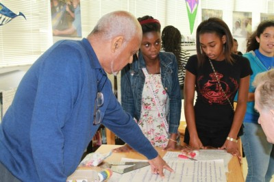 Civil rights leader Bob Moses joins FIU at celebration of summer math and civics academy