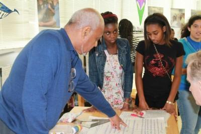 Civil rights leader Bob Moses joins FIU at celebration of summer math and civics academy
