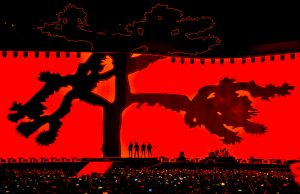 U2 performs on The Joshua Tree Tour 2017 at at Levi's Stadium in Santa Clara, Calif. Photo by Steve Jennings/WireImage.