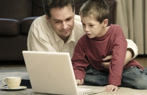 Center for Children and Families offers online resources for parents and professionals