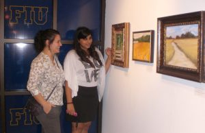 Office of Study Abroad exhibits student art in Graham Center