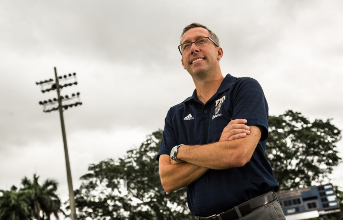 Scott Calabrese talks soccer in the U.S., starting over at FIU