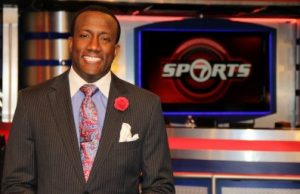 WSVN sports reporter Donovan Campbell '00 is still a Panther at heart