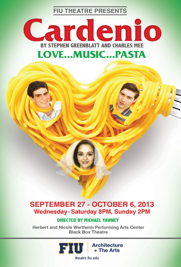 FIU Theatre opens 2013-2014 Mainstage season with Cardenio