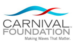 Carnival on board with third cohort of Gold Scholars